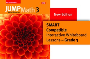 Grade 3 New Edition - JUMP Math Digital Lesson Slides (SMART or PPT)