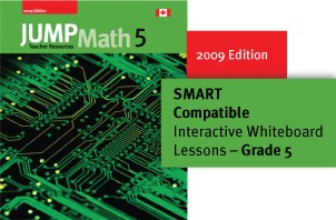 Grade 5 - JUMP Math Digital Lesson Slides (SMART only)