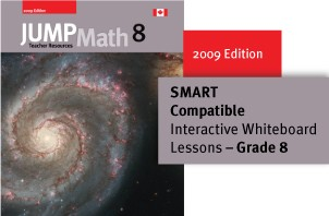 Grade 8 - JUMP Math Digital Lesson Slides (SMART only)