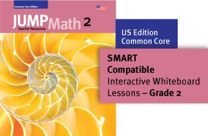 JUMP Math Digital Lesson Slides (SMART Notebook) - US Grade 2