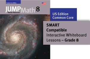 JUMP Math Digital Lesson Slides (SMART Notebook) - US Grade 8